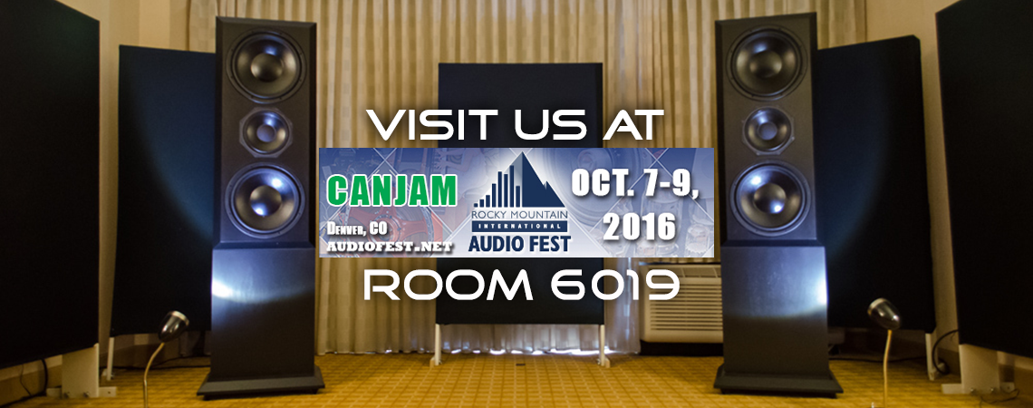 Rocky Mountain Audio Fest 2016 – Room 6019 – Display Models & Pricing