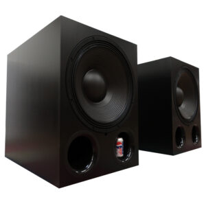 X21P/X21A 21″ Ported Subwoofer (Passive or Amplified)